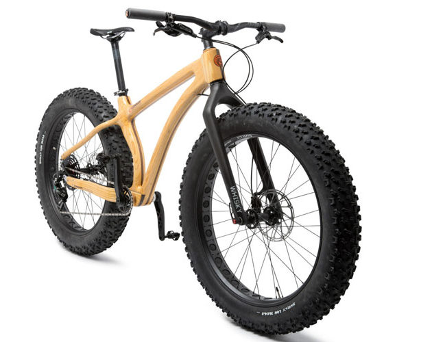 Fatbike en bois prototype