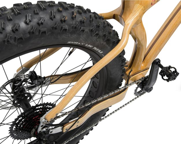 Wood fatbike from nahbs 2017