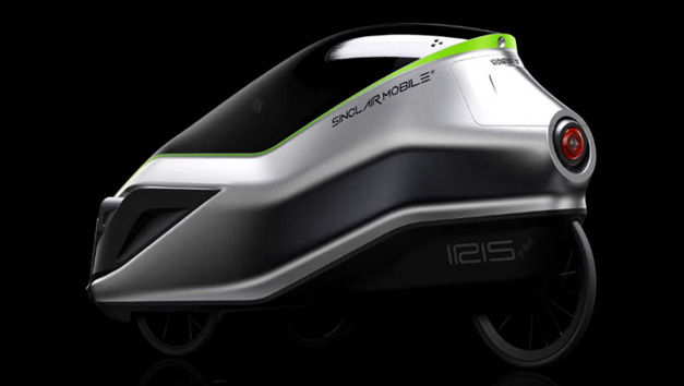 Velomobile electrique design