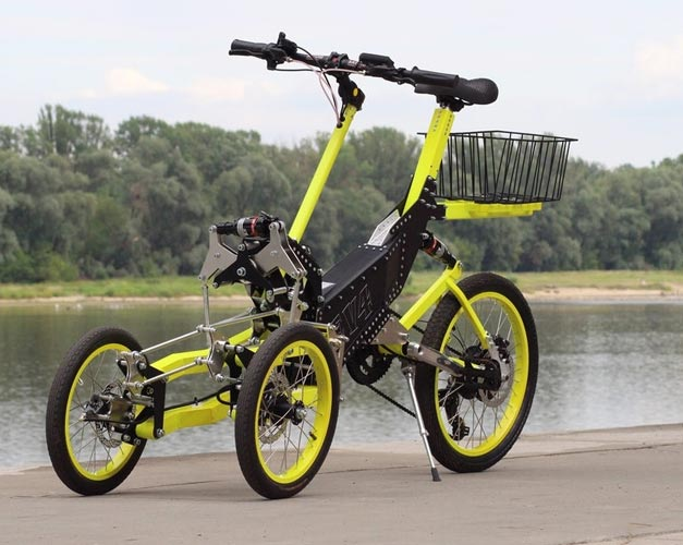 Tricycle inclinable EV4