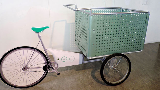 Cargo bike design Africa