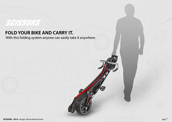 Velo pliable design ultra compact