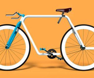 Velo monotube Piped bike