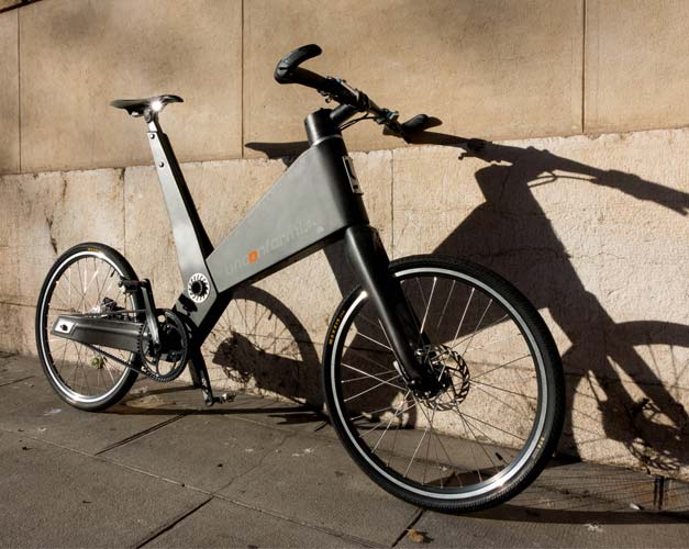 Velo urbain demontable en carbone