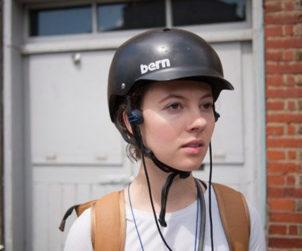 Ecouteurs conduction osseuse cycliste