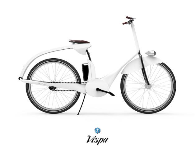 Velo Vespa concept