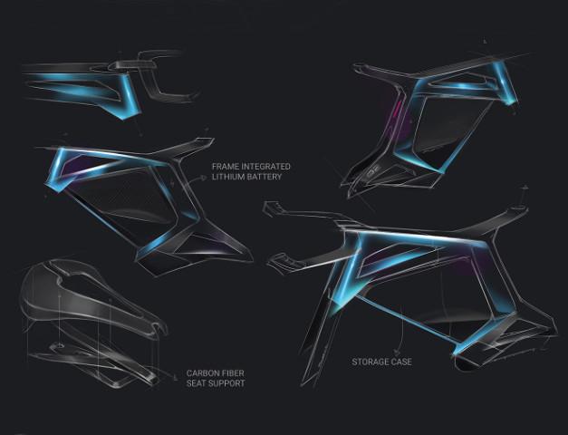 Illustrations velo design