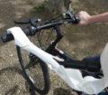 Bras prothetique cycliste
