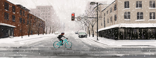 Biking stories by designer Daniel Grigorian