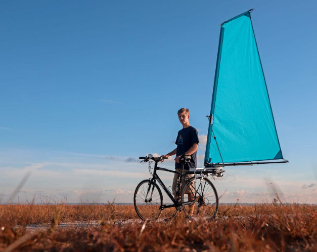 Cyclewing le velo a voile
