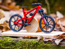 Maquette vtt en bois
