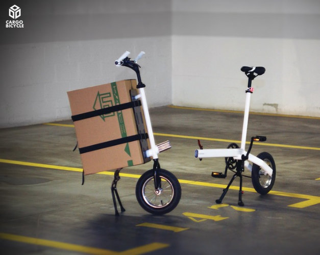 Velo cargo modulable