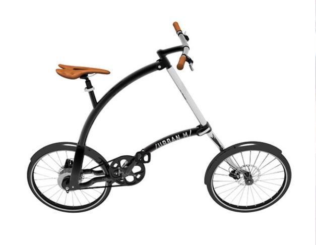 Folding city bike design