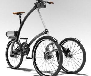 Tricycle roue avant