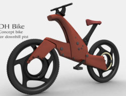 DH bike concept by Morteza Faghihi